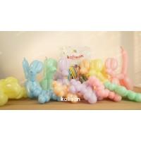 Sosis Balon Makaron Rengarenk 50-100 seçenekli ürün