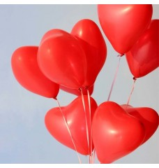 Kalp Balon 10-20-50-100 paketler
