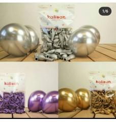 Krom Balon Minik 5 inç 25-50 li