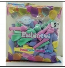 Makaron Balon Minik  100'lü Balonevi