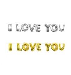 I Love You Balon Set 35 cm