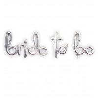 Bride To Be  Folyo balon imza gold-gümüş