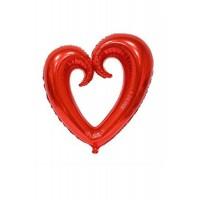 İçi Boş Kalp Folyo 50-90 cm