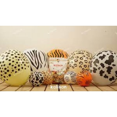 Safari Temalı Balon 10-20-50-100 adet